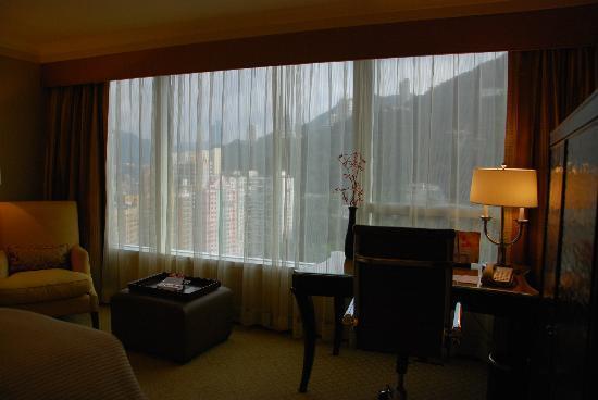 Conrad Hong Kong: Room's view