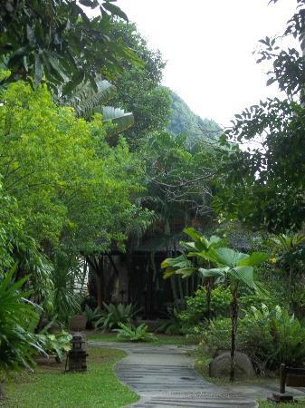 Sunrise Tropical Resort: территория отеля
