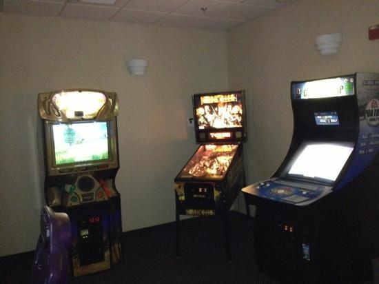 Hampton Inn Littleton: hotel game room