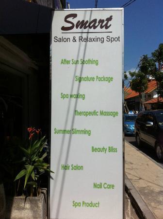 Smart Day Spa : Find this in Jalan Legian Street