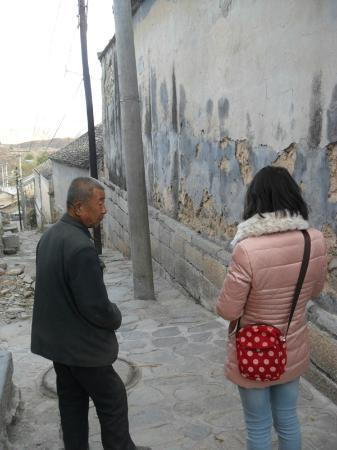 Lingshui Village: old and the new.