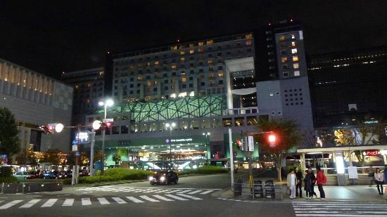 Night View of the Hotel Granvia Kyoto