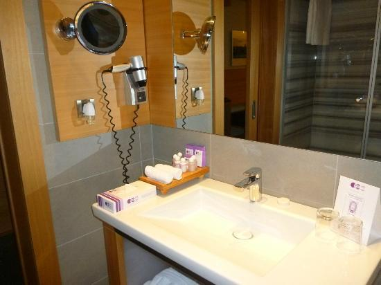 Point Hotel Barbaros: Toiletries and blow dryer