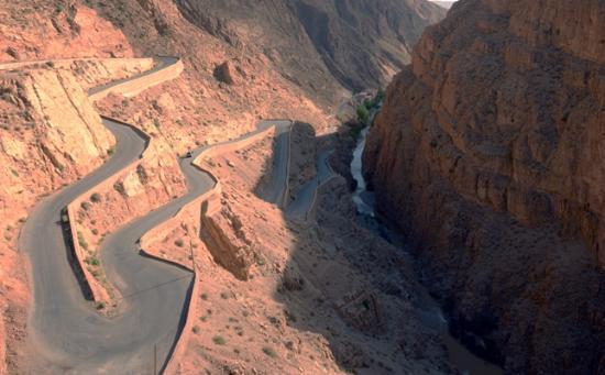 Kasbah de la Vallee : the gorge