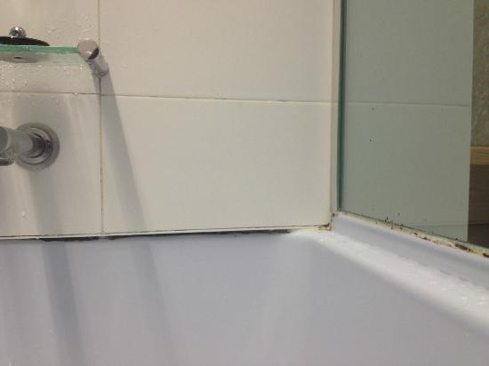 RACV Royal Pines Resort: mould inside shower