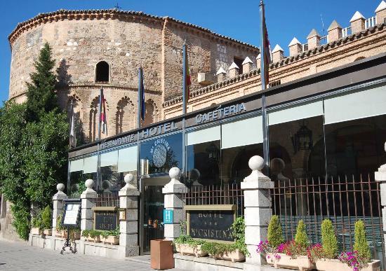 Hotel Maria Cristina: Entrada hotel desde fuera