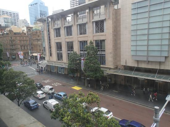 Hotel Coronation: QVB view from room