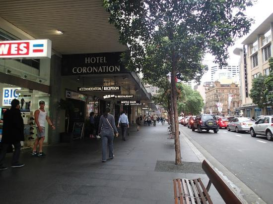 Hotel Coronation: View