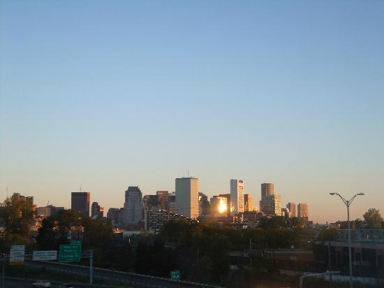 هوليداي إن إكسبريس بوسطن: View from our room