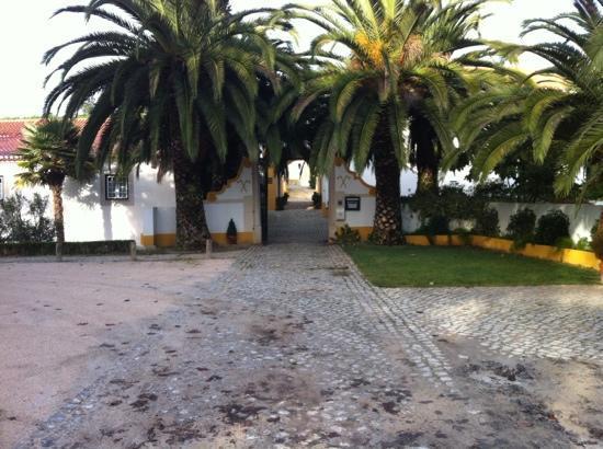 Quinta dos Machados: entrance