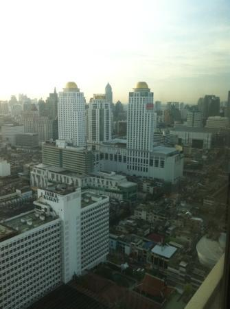 Baiyoke Sky Hotel: not a bad view