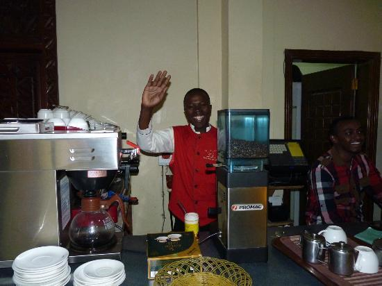 Nomad Palace Hotel Nairobi: Fresh coffee & cake