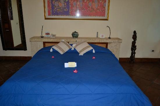 Villa Almarik Resort Lombok: La nostra camera da letto