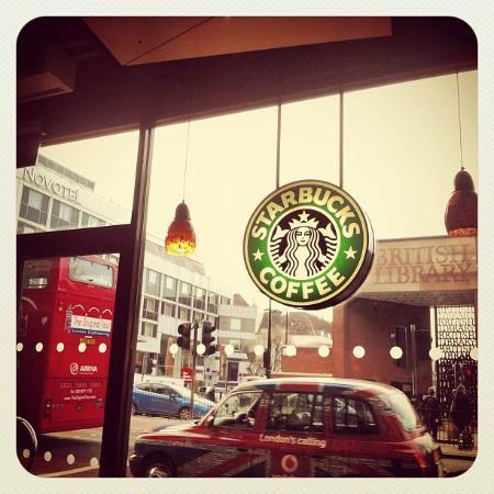 Starbucks Euston Road: Store view