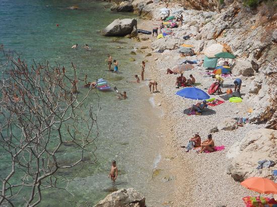 Camping Pod Maslinom: Plaża