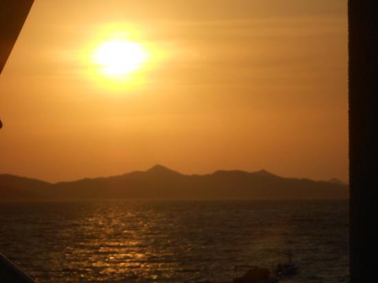Camping Pod Maslinom: Zachód słońca