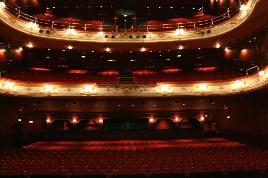 Bradford, UK: The Seating as viewed from stage