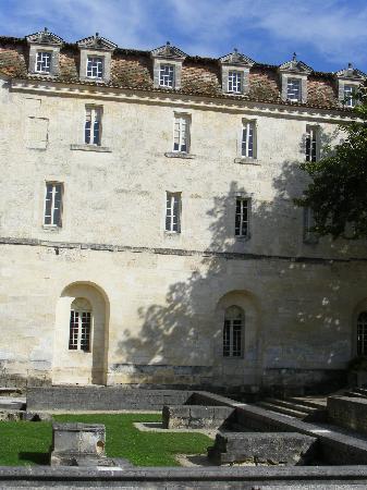 Les chambres de l'Abbaye aux Dames : Extérieur