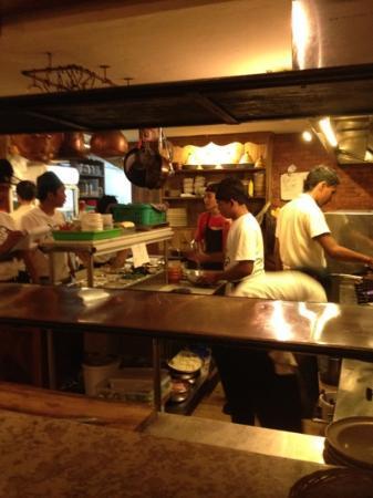 Kebun Bistro: chefs at work. great food great staff