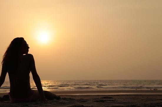 Sunset at Ashwem Beach