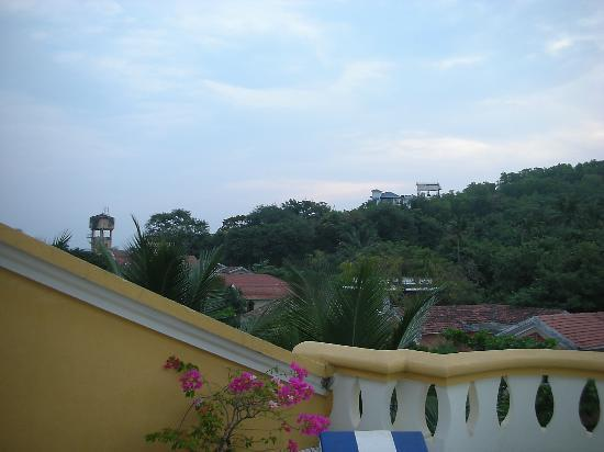 Bougainvillea Guest House Goa: Nice view from the sitout