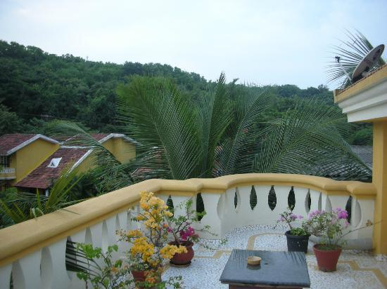 Bougainvillea Guest House Goa: The sit-out of the Penthouse