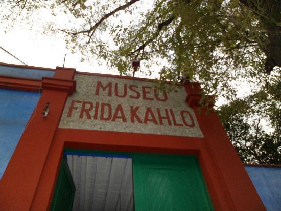 Musée Frida Kahlo : la entrada