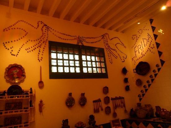 Musée Frida Kahlo : la cuisine ( mais attention photos interdites à l'interieur)