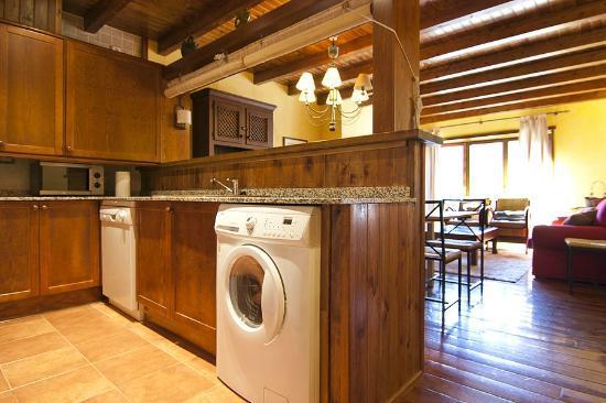 Baqueira Apartamentos Cota 1700: Cocina
