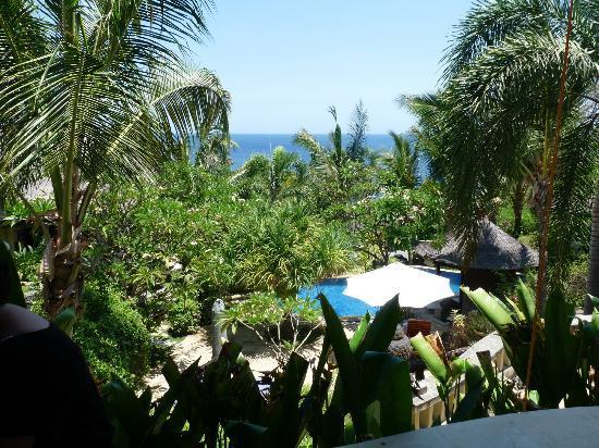 Jepun Bali Villa: vue depuis la terrasse de la villa