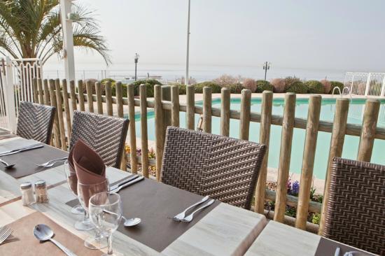 Best Western Hotel Paradou Mediterranee : Terrasse
