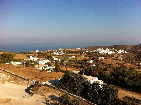 Nikoletta Geronti Pension: Verada view to the Aegean Sea
