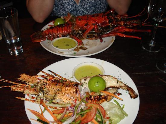Ndame Beach Lodge Zanzibar : Lobster ...