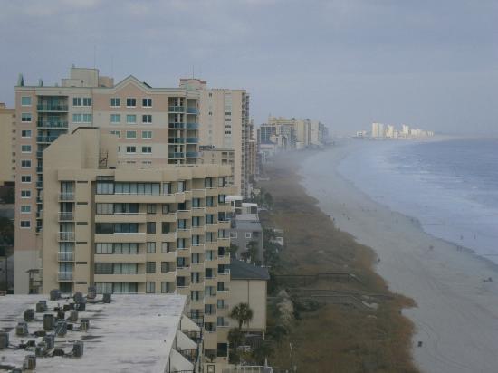 Seaside: View looking north
