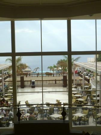 Concorde El Salam Hotel: From the lobby-outside area