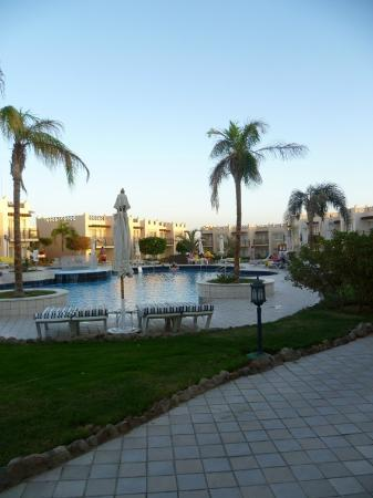 Concorde El Salam Front Hotel: The small gym-pool