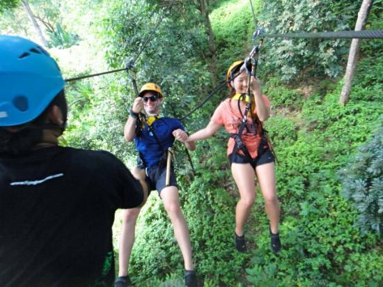 Kathu, Tailândia: couples zip