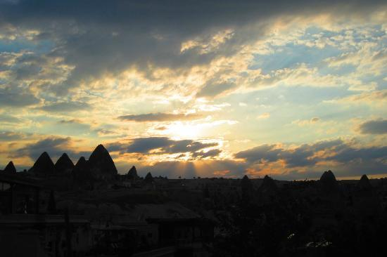 Goreme, Turkey: from the Hotel