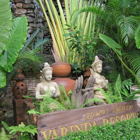 Varinda Garden Resort: The entrance