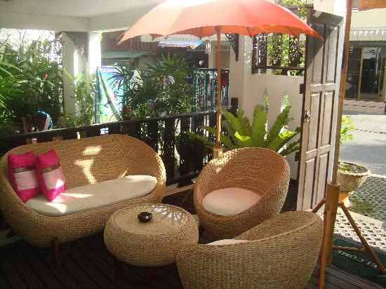 Top Garden Boutique Guesthouse: Lobby