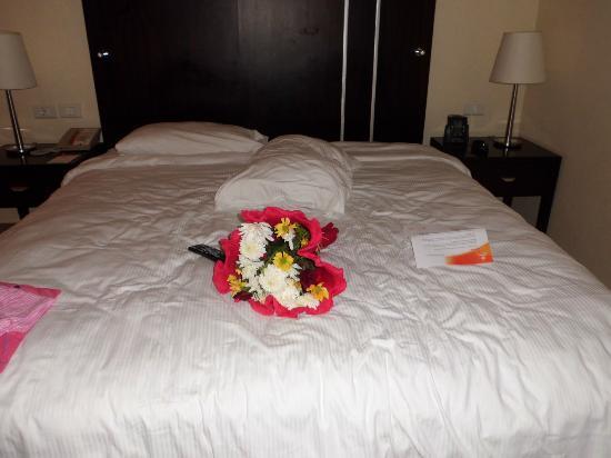 Hilton Sharks Bay Resort : fleurs pour la mariée