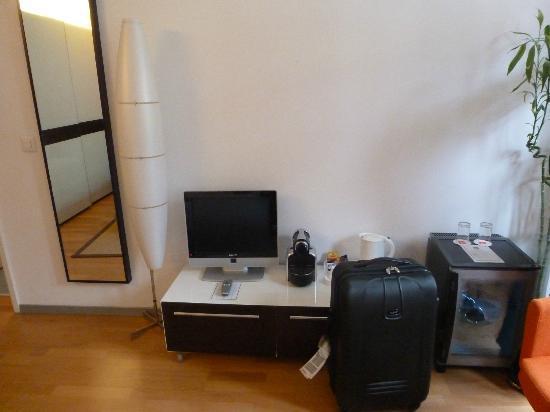 Design Hotel F6: chambre