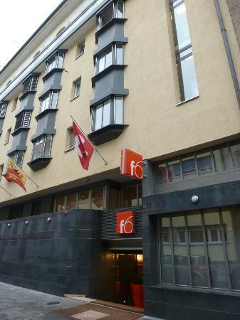 Design Hotel F6: deventure de l hotel