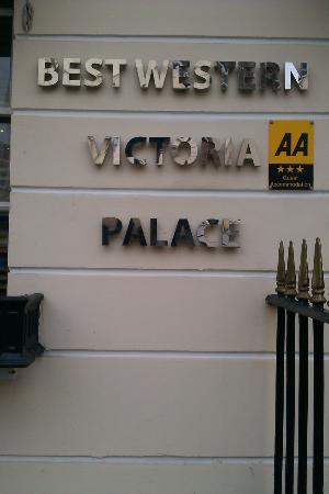 Best Western Victoria Palace: Outside Front