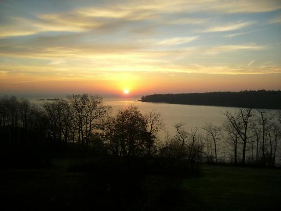 Sunrise from balcony at Ledges by the Bay