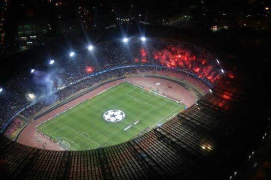 Αποτέλεσμα εικόνας για san paolo stadium