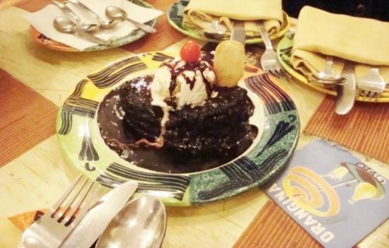 Yellow Brick Road : The Signature Dessert: Bull's Eye