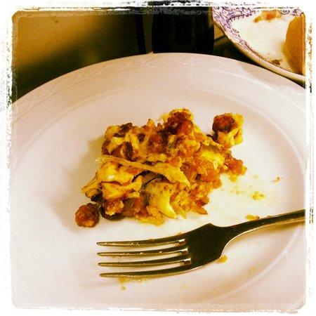 Restaurante Meson Las Rejas : revuelto de migas con huevo.. sin palabras..