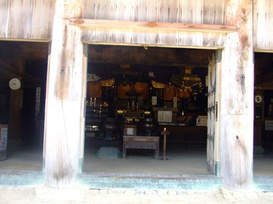 Ominesanji Temple: 本堂のご本尊を見て