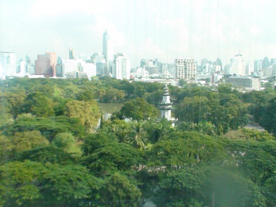 SO Sofitel Bangkok: Vue de la chambre